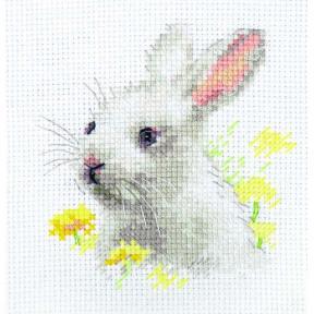 """Набор для вышивки крестом Алиса """"Белый крольчонок"""" 0-226"""