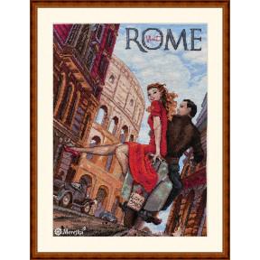Visit Rome Мережка Набор для вышивания крестом K-180