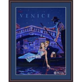 Visit Venice Мережка Набор для вышивания крестом K-181