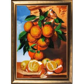 Апельсиновая ветка Butterfly Набор для вышивания бисером 135
