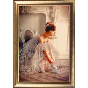 Балеринка Butterfly Набор для вышивания бисером 825