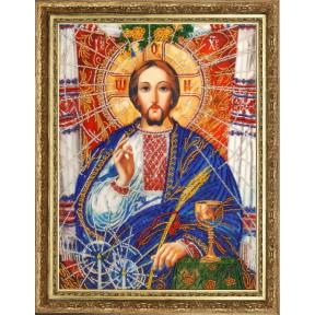 Христос Спаситель (по картине А. Охапкина) Butterfly Набор для вышивания бисером 817