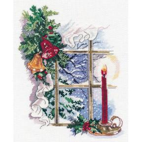 Свет Рождества Овен Набор для вышивки крестом 1358о