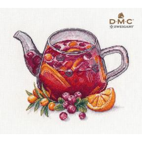Ягодный чай Овен Набор для вышивки крестом 1364о