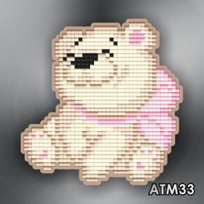 Медвежонок ArtSolo Набор алмазной живописи. Магнит АТМ33