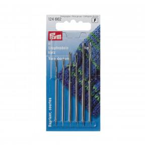 Иглы короткие для штопки, № 5/0-1/0 (серебристого цвета) Prym 124662