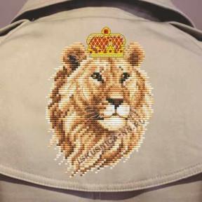 """Набор для вышивания крестом Искусница """"Лев"""" ВК12"""