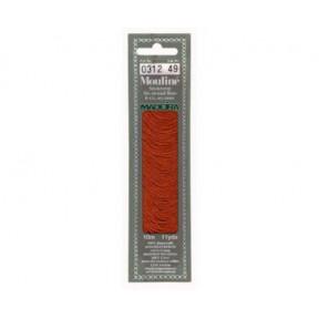 Мулине для вышивания Madeira хлопок 10 м. Цвет: 312