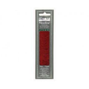 Мулине для вышивания Madeira хлопок 10 м. Цвет: 407