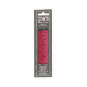 Мулине для вышивания Madeira хлопок 10 м. Цвет: 506