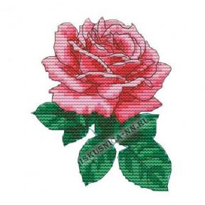 """Набор для вышивания крестом Искусница """"Роза"""" ВК23"""