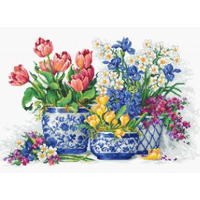 Весенние цветы Luca-S Набор для вышивания крестом B2386