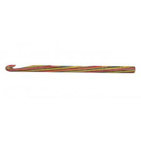 Крючок вязальный односторонний Symfonie Wood KnitPro, 15 см, 8.00 мм 20712с