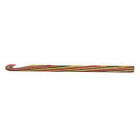 Крючок вязальный односторонний Symfonie Wood KnitPro, 15 см, 10.00 мм 20714с
