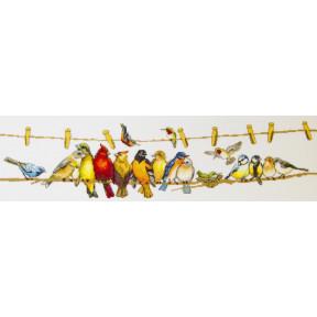 Вместе теплее Чарівна Мить Набор для вышивания крестом М-472