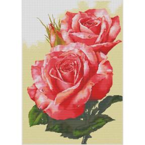 """Набор для вышивки  крестом Dantel 148 """"Красные розы"""""""
