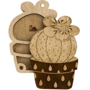 Органайзер для бисера с деревянной крышкой   Волшебная страна FLZB-098