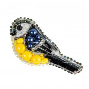 Лебедь Набор для изготовления броши Crystal Art  БП-312