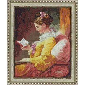 Набор для вышивания Bucilla 45461 Girl Reading фото