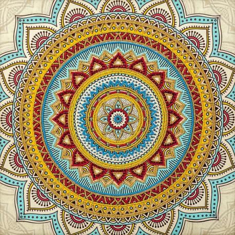 Мандала 2 Набор для вышивки бисером Волшебная страна FLF-120