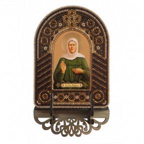 Матрона Московская Набор для создания иконы с вышитой рамкой-киотом Нова Слобода ВК2005
