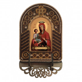 Богородица Троеручица Набор для создания иконы с вышитой рамкой-киотом Нова Слобода ВК2008