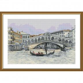 Венецианский канал Набор для вышивки крестом Нова Слобода РЕ3524