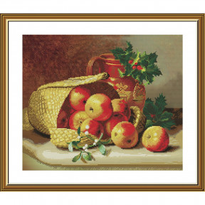 Сладкие яблочки Набор для вышивки крестом Нова Слобода СР3304