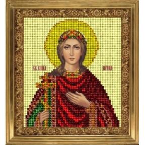 Набор для вышивания бисером КиТ 80715 Св Ирина фото