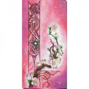Цвет сакуры Набор для вышивки бисером Абрис Арт AB-799