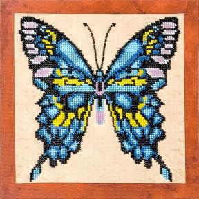 Бабочка-2 Набор для вышивки бисером Волшебная страна FLF-017