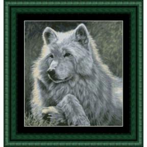 Набор для вышивания Kustom Krafts GAW-001 Волк фото