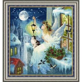 Набор для вышивки крестом Золотое Руно СО-012 Зимняя фея