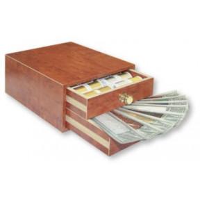 8115 Золотая шкатулка для рукоделия Madeira (Metallic 6,12,20,25 Spektra, Heavy Metal 20xmetallic 10)