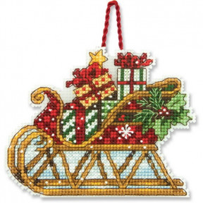 Набор для вышивания Dimensions 70-08914 Sleigh Ornament