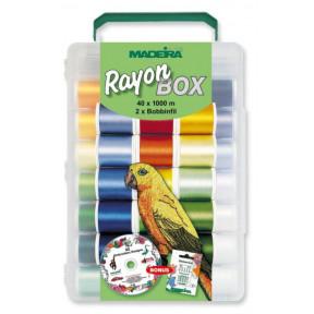 Rayon набор вышивальный (40хRayon 1000 м, 2хBobbinfil 1500 м) 8042