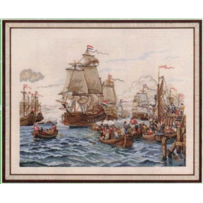 Boats and people Набор для вышивания Eva Rosenstand 12-794