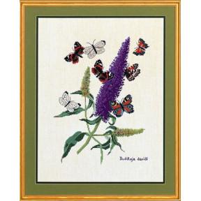 Butterflyplant Набор для вышивания Eva Rosenstand 12-739