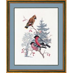 Bullfinch & waxwing Набор для вышивания Eva Rosenstand 12-731