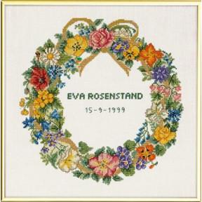 Jubilee wreath Набор для вышивания Eva Rosenstand 12-678