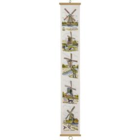 5 Dutch Wind Mills Набор для вышивания Eva Rosenstand 13-344