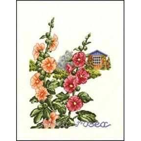 House and flowers Набор для вышивания Eva Rosenstand 12-302
