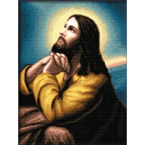 Набор для вышивания Kustom Krafts 40027 Prayer of Christ фото