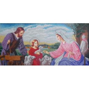 Набор Для Вышивания Бисером БС Солес Святое семейство (плотник) СР-2