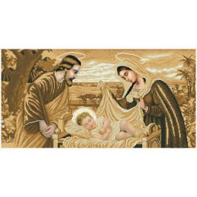 Набор Для Вышивания Бисером БС Солес Святое семейство (сепия) СР-с