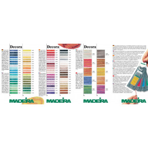 122 карта цветов Decora