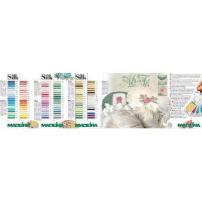 121 карта цветов Silk