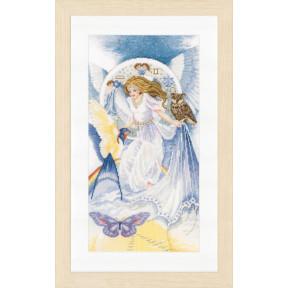 Набор для вышивки крестом LanArte PN-0148343 Четыре стихии - воздух