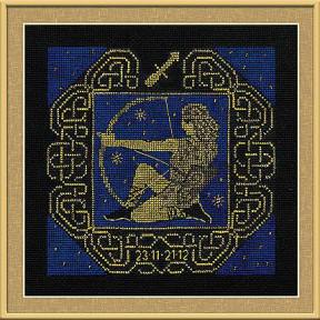 Набор для вышивания Риолис 1209 Знак зодиака Стрелец