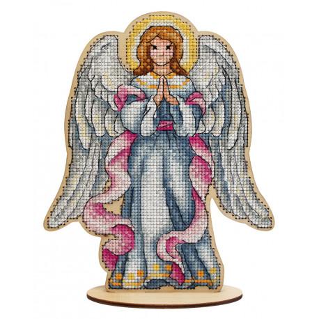 Рождественский ангел Набор для вышивания МП Студия О-027